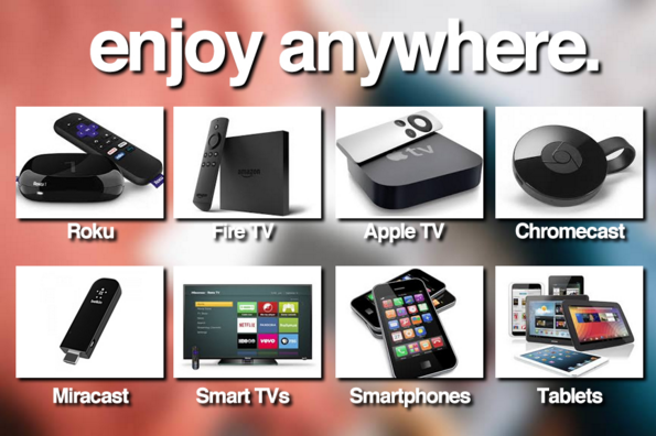 PNN ONE is on a variety of devices