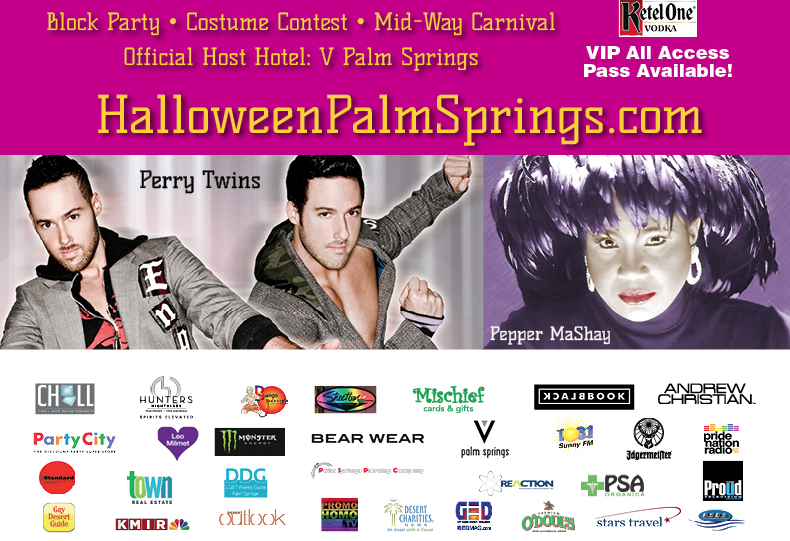 Palm Springs Is The Place To Be For Halloween