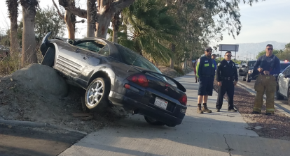 Car accident in Palm Springs
